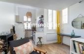 T2020-001, Appartement atypique indépendant sur cour pavée, calme, clair, idéalement situé