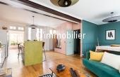 T2021-03, Maison  de 175 m²  carrez sur 3 niveaux, 41 m² de terrasse, belles prestations, et beaux volumes