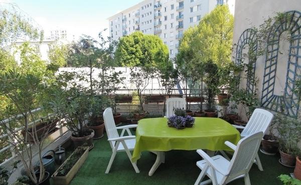 terrasse 22 m²