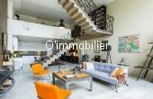 T2017-023, UNIQUE, LOFT de style LE CORBUSIER de 168 m² et 58 m² de jardin