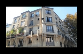 T2018-0019, 4 pièces de 87 m², traversant, balcons, charme, immeuble art-déco, belles hauteurs sous-plafond